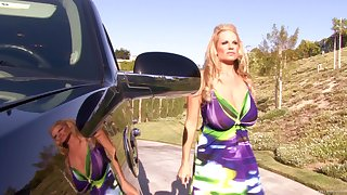 Kelly Madison is a hot mollycoddle who loves showing off her sexy curves