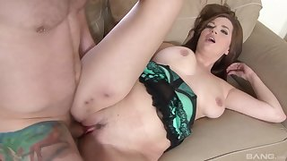 Take charge Michelle Sweet masturbates vanguard sucking and fucking a cock